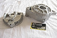 Ford G3 Aluminum Alternator BEFORE Chrome-Like Metal Polishing and Buffing Services