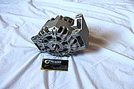 2009 Pontiac Solstice Aluminum Alternator BEFORE Chrome-Like Metal Polishing and Buffing Services
