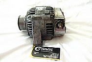 1993 - 1998 Toyota Supra 2JZ-GTE Aluminum Alternator BEFORE Chrome-Like Metal Polishing and Buffing Services