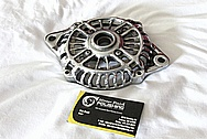 Aluminum Alternator BEFORE Chrome-Like Metal Polishing and Buffing Services
