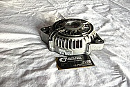 1995 Dodge Viper Aluminum Alternator BEFORE Chrome-Like Metal Polishing and Buffing Services