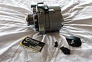 1983 Ford Mustang GT Aluminum Alternator BEFORE Chrome-Like Metal Polishing and Buffing Services / Restoration Services