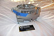 Aluminum Engine Alternator BEFORE Chrome-Like Metal Polishing and Buffing Services / Restoration Services