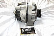 2000 Chevy Corvette Aluminum Alternator BEFORE Chrome-Like Metal Polishing and Buffing Services / Restoration Services