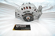 Aluminum, Finned Cast Alternator BEFORE Chrome-Like Metal Polishing and Buffing Services / Restoration Services