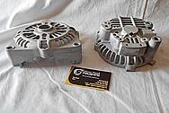 Aluminum V8 Engine Alternator BEFORE Chrome-Like Metal Polishing and Buffing Services / Restoration Services