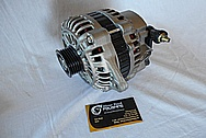 Aluminum Alternator BEFORE Chrome-Like Metal Polishing and Buffing Services / Restoration Services