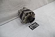 1993 Buick Roadmaster Aluminum Alternator BEFORE Chrome-Like Metal Polishing - Aluminum Polishing Services