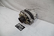 1993 Buick Roadmaster Aluminum Alternator BEFORE Chrome-Like Metal Polishing - Aluminum Polishing Services