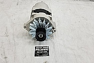 Buick Grand National Aluminum Alternator BEFORE Chrome-Like Metal Polishing - Aluminum Alternator Polishing