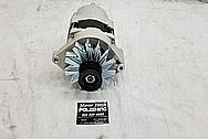 Buick Grand National Aluminum Alternator BEFORE Chrome-Like Metal Polishing - Aluminum Alternator Polishing