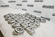 Aluminum Alternators BEFORE Chrome-Like Metal Polishing and Buffing Services / Restoration Services