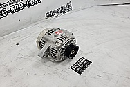 Denso Aluminum Alternator BEFORE Chrome-Like Metal Polishing and Buffing Services / Restoration Services