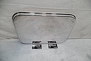 Aluminum Pan AFTER Chrome-Like Metal Polishing and Buffing Services / Restoration Services