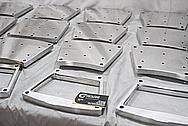 Custom Aluminum Machined Part AFTER Chrome-Like Metal Polishing and Buffing Services / Restoration Services