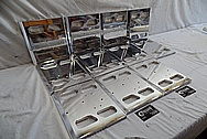 Aluminum Audio Covers AFTER Chrome-Like Metal Polishing and Buffing Services - Aluminum Polishing