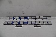 Aluminum Sign AFTER Chrome-Like Metal Polishing and Buffing Services - Aluminum Polishing