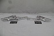 Aluminum Riser / Recurve Bow AFTER Chrome-Like Metal Polishing and Buffing Services - Aluminum Polishing