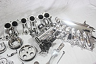Toyota Supra 2JZ Aluminum Parts AFTER Chrome-Like Metal Polishing and Buffing Services / Restoration Services