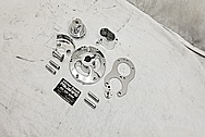 Aluminum Go Kart Parts AFTER Chrome-Like Metal Polishing and Buffing Services / Restoration Services - Aluminum Polishing