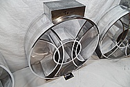 Custom Stainless Steel Guitar Piece AFTER Chrome-Like Metal Polishing and Buffing Services - Stainless Steel Polishing