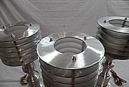 Aluminum Lamp AFTER Customized Satin Finished Services / Restoration Services