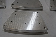 Custom Aluminum Machined Part BEFORE Chrome-Like Metal Polishing and Buffing Services / Restoration Services
