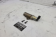 Aluminum Sensor BEFORE Chrome-Like Metal Polishing and Buffing Services / Restoration Services - Aluminum Polishing