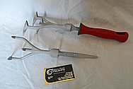 Aluminum Gardening Tools BEFORE Chrome-Like Metal Polishing and Buffing Services / Restoration Services