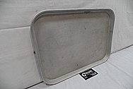Aluminum Pan BEFORE Chrome-Like Metal Polishing and Buffing Services / Restoration Services