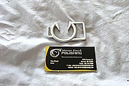 Aluminum Belt Buckle Piece BEFORE Chrome-Like Metal Polishing and Buffing Services / Restoration Services