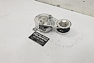 Toyota Supra Aluminum Belt Tensioner AFTER Chrome-Like Metal Polishing and Buffing Services - Aluminum Polishing Services