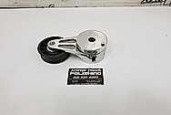 Aluminum Belt Tensioner AFTER Chrome-Like Metal Polishing and Buffing Services - Aluminum Polishing Services