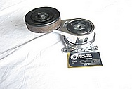 1993 - 1998 Toyota Supra 2JZ-GTE Aluminum Belt Tensioner AFTER Chrome-Like Metal Polishing and Buffing Services
