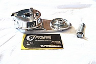Dodge Challenger 6.1L Hemi Engine Aluminum Belt Tensioner AFTER Chrome-Like Metal Polishing and Buffing Services