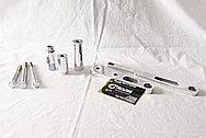 Aluminum Chevy Corvette Pump Delete Kit AFTER Chrome-Like Metal Polishing and Buffing Services / Restoration Services