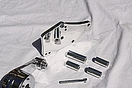 Chevrolet Corvette Aluminum Belt Tensioner AFTER Chrome-Like Metal Polishing and Buffing Services