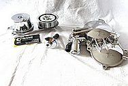 Nissan GTR Aluminum Belt Tensioner AFTER Chrome-Like Metal Polishing and Buffing Services / Restoration Services