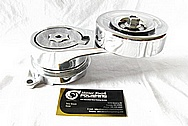Toyota Supra 2JZ - GTE Aluminum Belt Tensioner AFTER Chrome-Like Metal Polishing and Buffing Services / Restoration Services