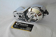 Aluminum Engine Belt Tensioner AFTER Chrome-Like Metal Polishing and Buffing Services / Restoration Services