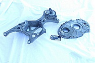 1994 Chevy ZR-1 Corvette V8 Aluminum Belt Tensioner BEFORE Chrome-Like Metal Polishing and Buffing Services
