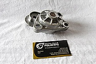Aluminum Engine Belt Tensioner BEFORE Chrome-Like Metal Polishing and Buffing Services / Restoration Services