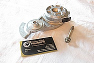 Aluminum Ford Mustang Belt Tensioner BEFORE Chrome-Like Metal Polishing and Buffing Services