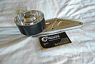 Ford Shelby GT500 Aluminum Belt Tensioner BEFORE Chrome-Like Metal Polishing - Aluminum Polishing