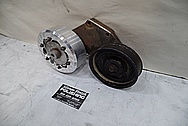 Aluminum Belt Tensioner BEFORE Chrome-Like Metal Polishing - Aluminum Polishing Services
