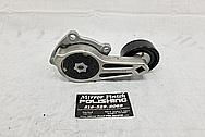 Aluminum Belt Tensioner and Pulley BEFORE Chrome-Like Metal Polishing - Aluminum Polishing Services
