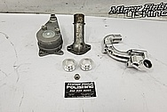 Toyota Supra Aluminum Belt Tensioner BEFORE Chrome-Like Metal Polishing and Buffing Services - Aluminum Polishing Services