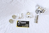 Aluminum Bicycle Hubs AFTER Chrome-Like Metal Polishing and Buffing Services / Restoration Services