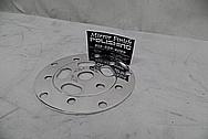 Aluminum Bicycycle Chain Disc AFTER Chrome-Like Metal Polishing - Aluminum Polishing