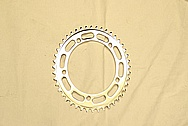 Bicycle Sprocket AFTER Chrome-Like Metal Polishing and Buffing Services